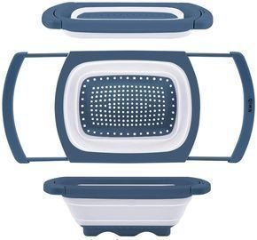 Over The Sink Silicone Kitchen Strainers and Colanders