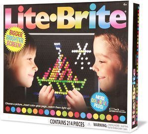 Basic Fun Lite-Brite Ultimate Classic Retro Toy