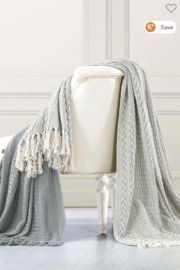 Modern Threads Cotton Throw Blanket 2-Pack