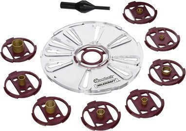 Milescraft Base Plate/Bushing Set for Routers