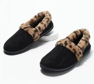Skechers Plush Faux Fur Slippers