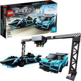 LEGO Speed Champions Formula E Panasonic Jaguar Racing Gen2 Car (565 Pieces)