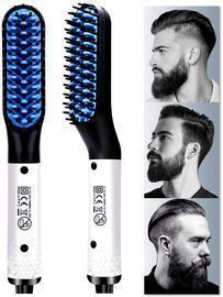 Multifunctional Hair Styler Electric Hot Comb and Beard Straightening Brush