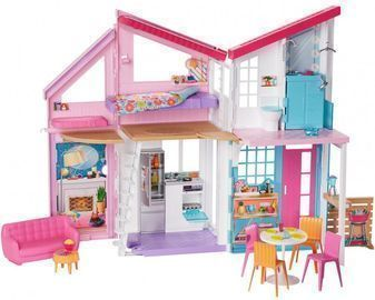 Barbie Estate Malibu House Playset with 25+ Themed Accessories