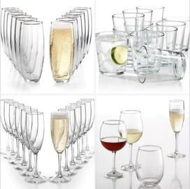 12pc Martha Stewart Essentials Glassware Collection