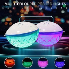 Portable Bluetooth Speaker with LED Lights