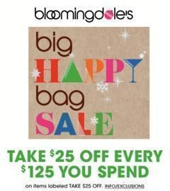 Bloomingdale's - $25 Off Every $125 Spent + $25 Off Every $250 Beauty Order