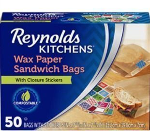 Reynolds Kitchens Sandwich and Snack Wax Paper Bags