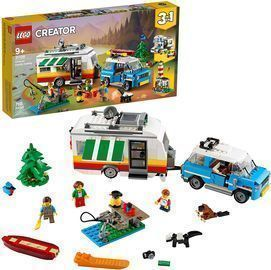 LEGO Creator 3in1 Caravan Family Holiday 31108 Vacation Toy Building Kit