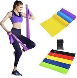 Non-Slip Exercise Bands - 8pk