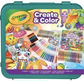 Crayola Epic Create & Color Art Case 75 Pieces