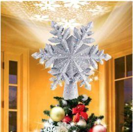 Chriffer Christmas Snowflake Tree Topper