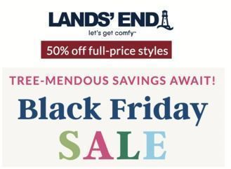 LANDS' END - 50% Off | Black Friday