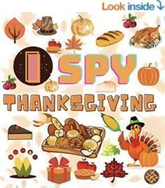 I SPY THANKSGIVING: A Fun Guessing Game Kindle Edition