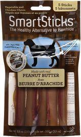 SmartBones Peanut Butter SmartSticks Chews for Dogs