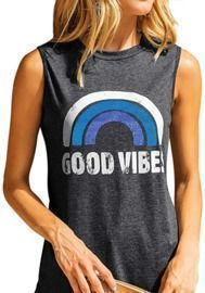 Good Vibes Tank Top - Loose Fit
