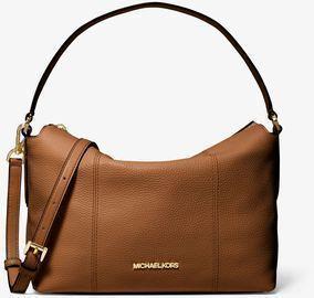 Brooke Medium Pebbled Leather Shoulder Bag