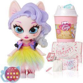 Kitten Catfe Purrista Girl Doll