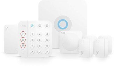 2nd Gen. Ring Alarm 8pc. Kit (Works w/ Alexa)