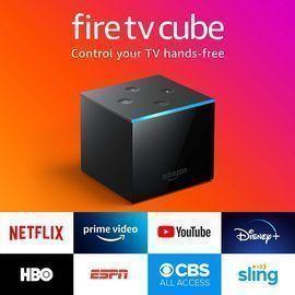 Amazon 4K Fire TV Cube (2019 Model)
