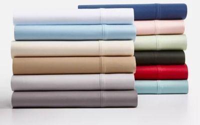 4-Pc AQ Textiles Camden Sateen 1250-Thread Count Sheet Set