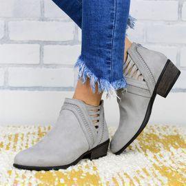Trendy Crisscross Booties