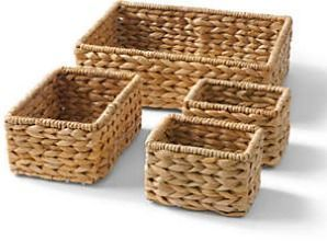 Seagrass Nesting Baskets - Set of 4