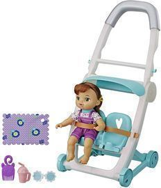 Baby Alive Littles - Push 'N Kick Stroller (Little Lucy)