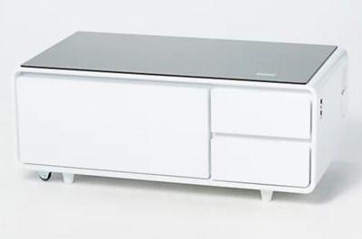 Sobro Smart Coffee Table with Built-In Mini Fridge
