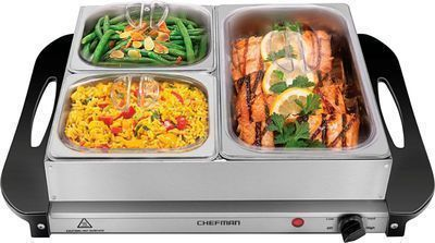 Chefman Electric Buffet Server + Warming Tray