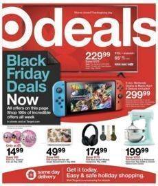 Target Black Friday Sale Live Now!