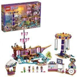 LEGO Friends Heartlake City Amusement Park with Toy Rollercoaster Building Set