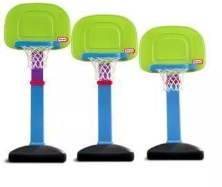 Little Tikes Adjustable Basketball Hoop Set