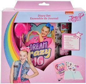 JoJo Siwa Diary with Pen, Stamper and 2 Sticker Sheets