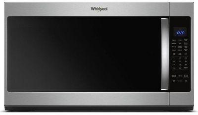 Whirlpool 2.1-cu ft Over-the-Range Microwave, Fingerprint Resistant Stainless Steel