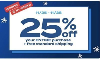 Bed Bath & Beyond - 25% Off Your Entire Purchase