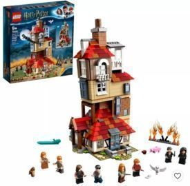 LEGO Harry Potter Attack on the Burrow Building Set