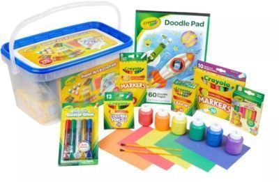 Crayola 115pc Kids' Super Art & Craft Kit