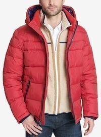 Tommy Hilfiger Men's Quilted Puffer Jacket (Various Styles)