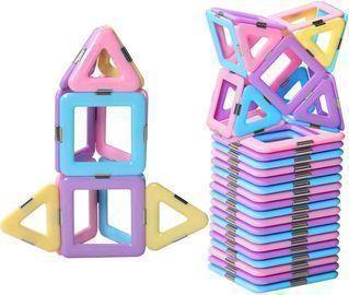 Magnetic Blocks/Tiles Toys