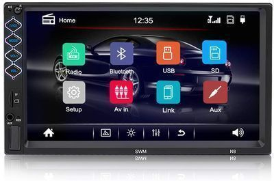 Universal Car Stereo with Bluetooth