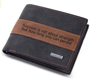 Personalized Custom Text Wallet