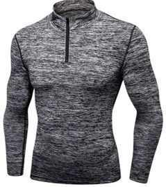 Men's Long Sleeve Zip Pullover