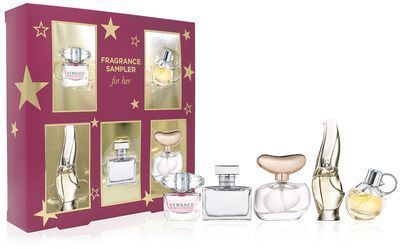5Pc Fragrance Sampler for HER Gift Set