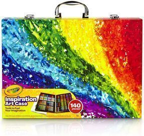 Crayola Inspiration Art Case Coloring Set, 140 Art Supplies