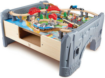Hape 70-Pc. Railway City Train Set
