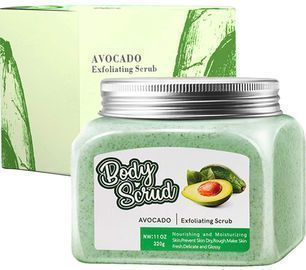 100% Natural Avocado Exfoliating Body Scrub
