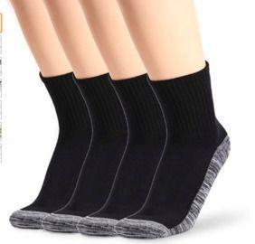 Bamboo Crew Socks - 4 Pairs