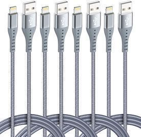 4Pack(10ft 6ft 6ft 3ft) Lightning Cables