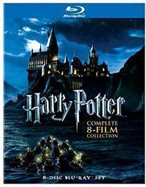 Harry Potter: Complete 8-Film Collection, Blu-ray